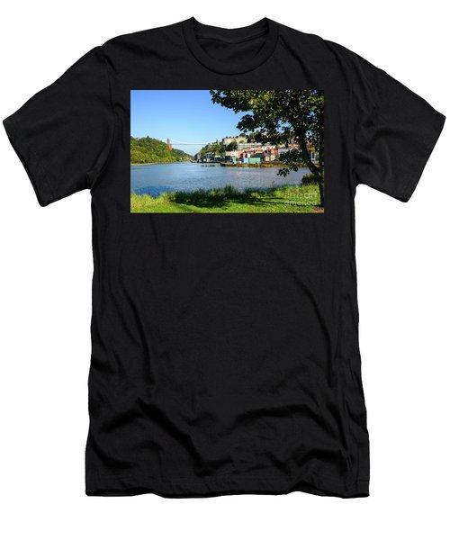 Clifton Suspenion Bridge Men's T-Shirt (Athletic Fit)