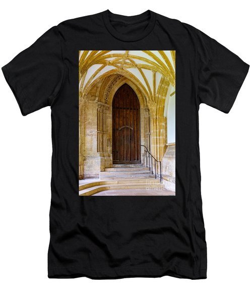 Cloisters, Wells Cathedral Men's T-Shirt (Athletic Fit)