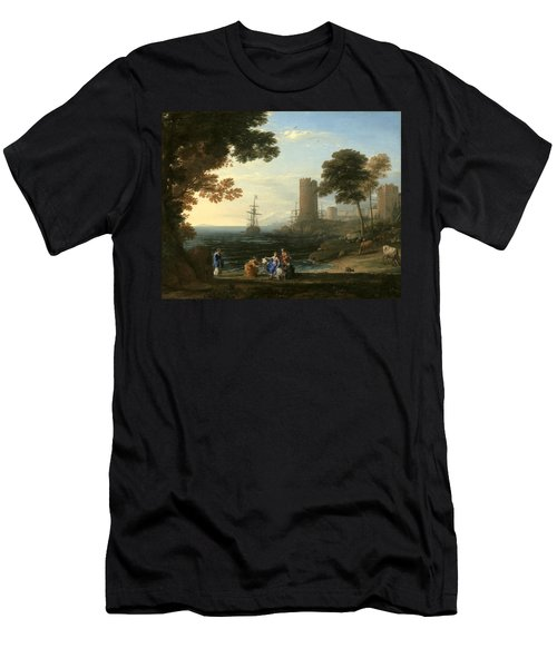 Coast View With The Abduction Of Europa Men's T-Shirt (Athletic Fit)