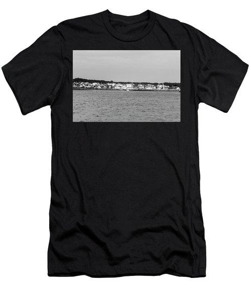 Coastline At Molle In Sweden Men's T-Shirt (Athletic Fit)