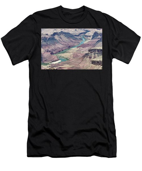 Colorado River In The Grand Canyon Men's T-Shirt (Athletic Fit)