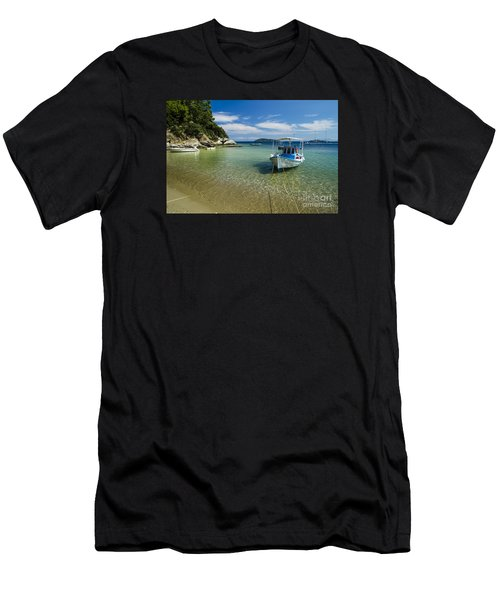 Colorful Boat Men's T-Shirt (Athletic Fit)