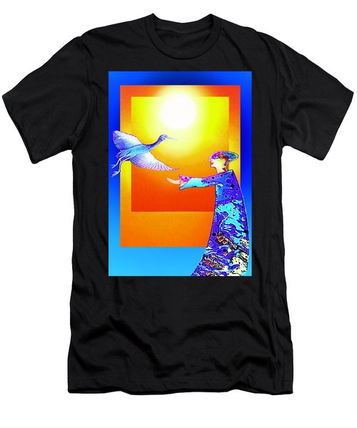 Colorful Friends Men's T-Shirt (Athletic Fit)