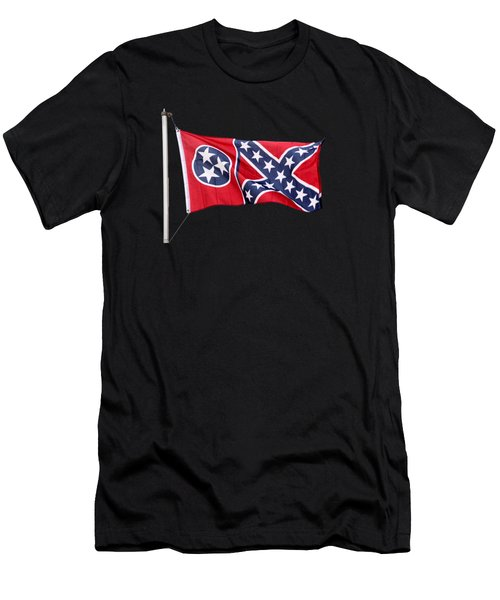 Confederate-flag Men's T-Shirt (Athletic Fit)