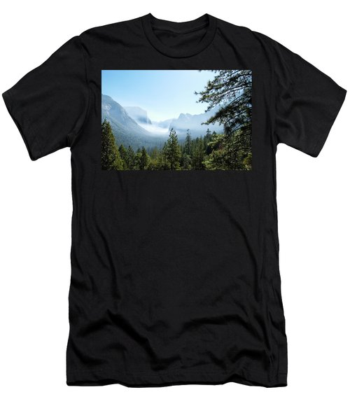 Controlled Burn Of Yosemite Men's T-Shirt (Athletic Fit)