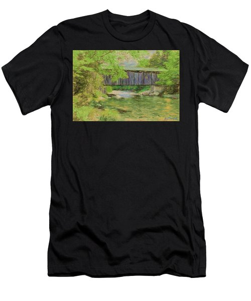 Cool And Green And Shady Men's T-Shirt (Athletic Fit)