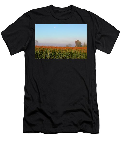 Cornfield Moonset Men's T-Shirt (Athletic Fit)