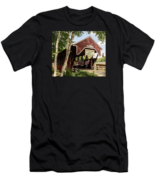 Covered Bridge Gift Shoppe Men's T-Shirt (Athletic Fit)