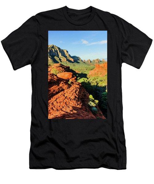 Cowpie 07-112 Men's T-Shirt (Slim Fit) by Scott McAllister