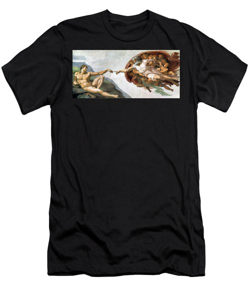Creation Of Adam Men's T-Shirt (Athletic Fit)