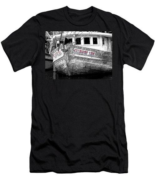 Crimson Tide Men's T-Shirt (Slim Fit) by Michael Thomas