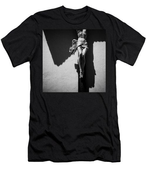 Crucifixion Men's T-Shirt (Athletic Fit)