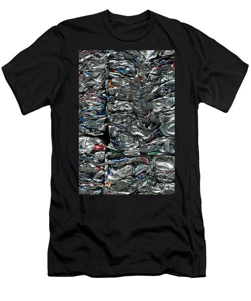 Crushed Cans Men's T-Shirt (Athletic Fit)