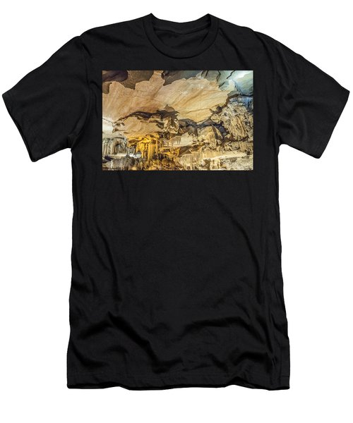 Crystal Cave Sequoia National Park Men's T-Shirt (Athletic Fit)