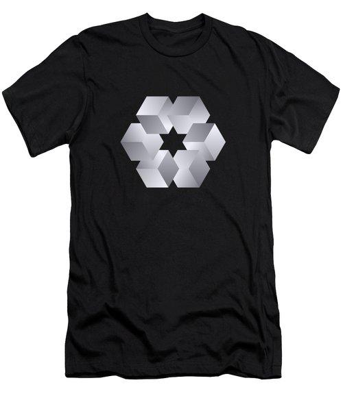 Cube Star Men's T-Shirt (Athletic Fit)