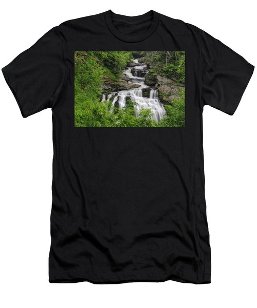 Cullasaja Falls Men's T-Shirt (Athletic Fit)