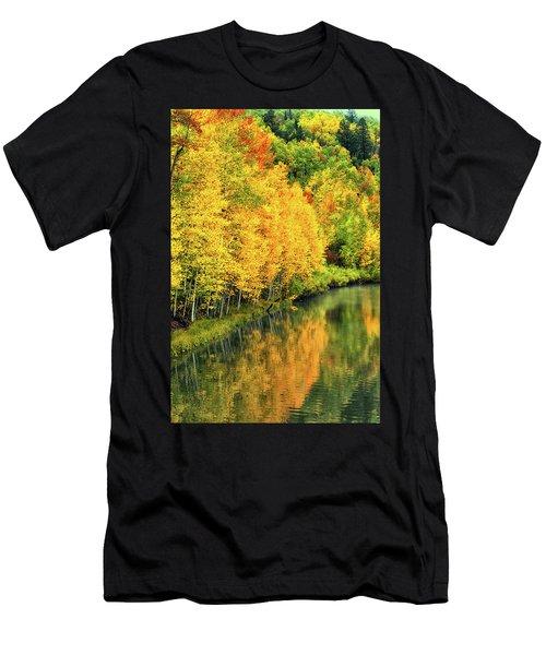 Cushman Lake  Men's T-Shirt (Athletic Fit)