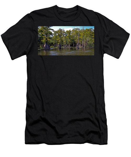 Cypress On The Suwannee Men's T-Shirt (Athletic Fit)