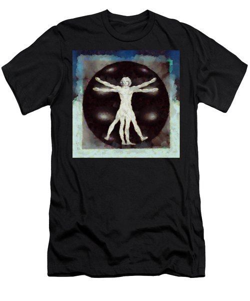 Da Vinci Dude Men's T-Shirt (Athletic Fit)