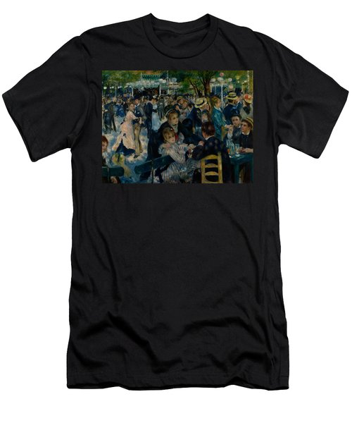 Dance At Le Moulin De La Galette  Men's T-Shirt (Athletic Fit)
