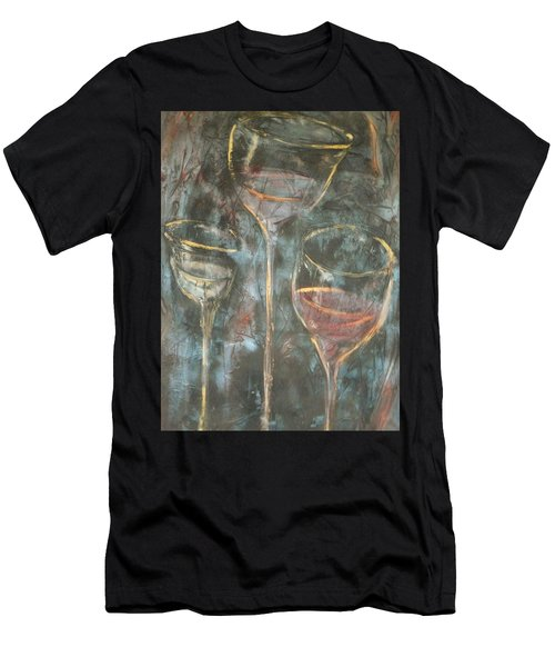 Dancing Glasses Men's T-Shirt (Athletic Fit)