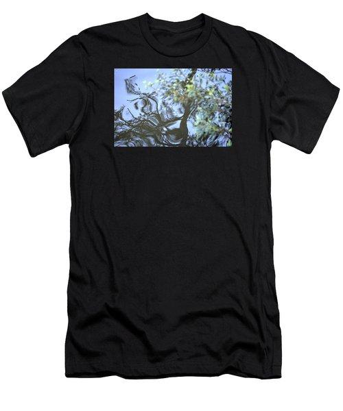 Dancing Leaves Men's T-Shirt (Athletic Fit)