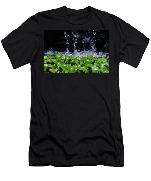 Dancing Water Men's T-Shirt (Athletic Fit)