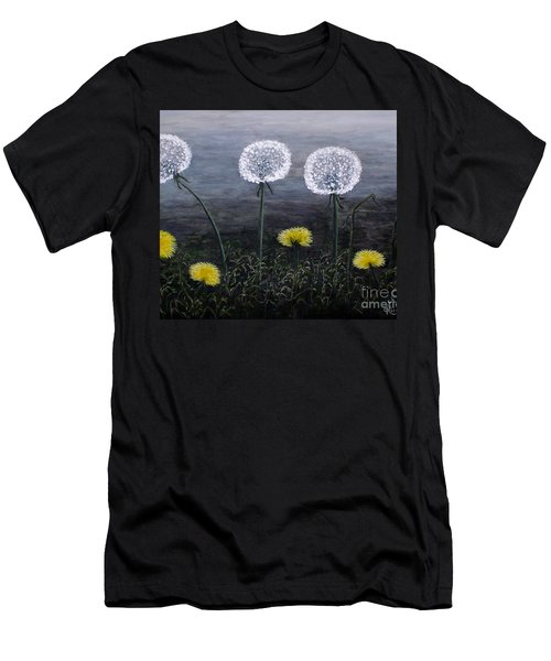 Dandelion Family Men's T-Shirt (Athletic Fit)