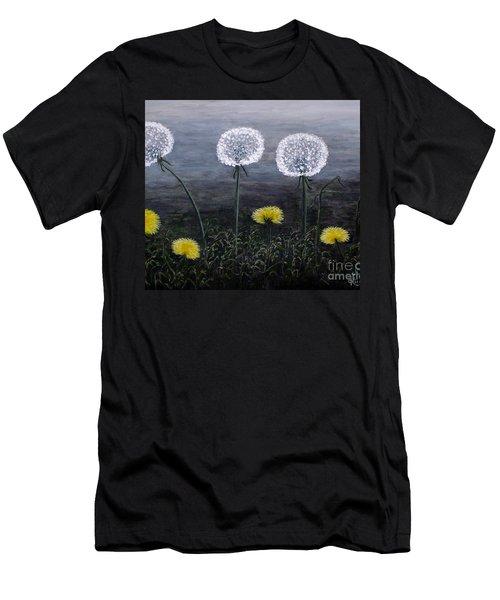Dandelion Family Men's T-Shirt (Athletic Fit)