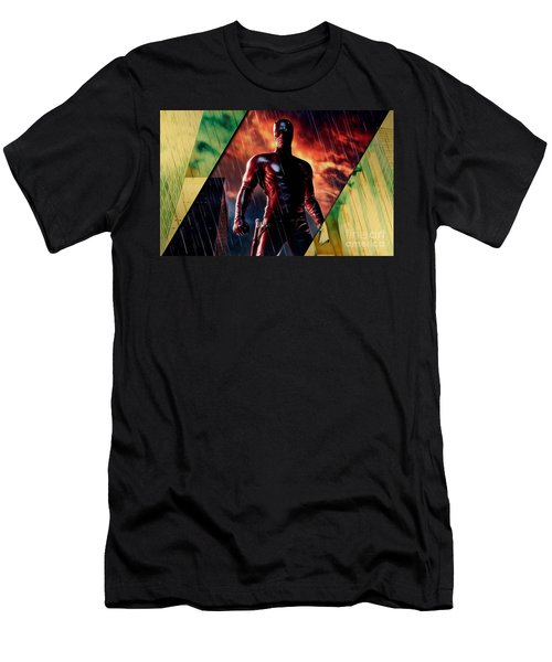 Daredevil Collection Men's T-Shirt (Slim Fit) by Marvin Blaine