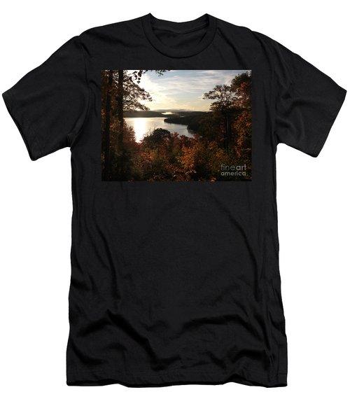 Dawn At Algonquin Park Canada Men's T-Shirt (Athletic Fit)