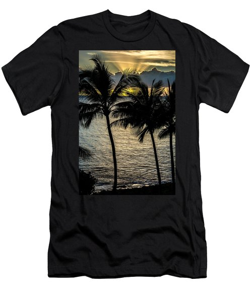 Day Is Done Men's T-Shirt (Slim Fit) by Colleen Coccia