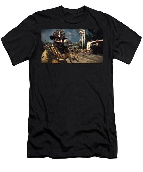 Dead Rising 3 Men's T-Shirt (Athletic Fit)