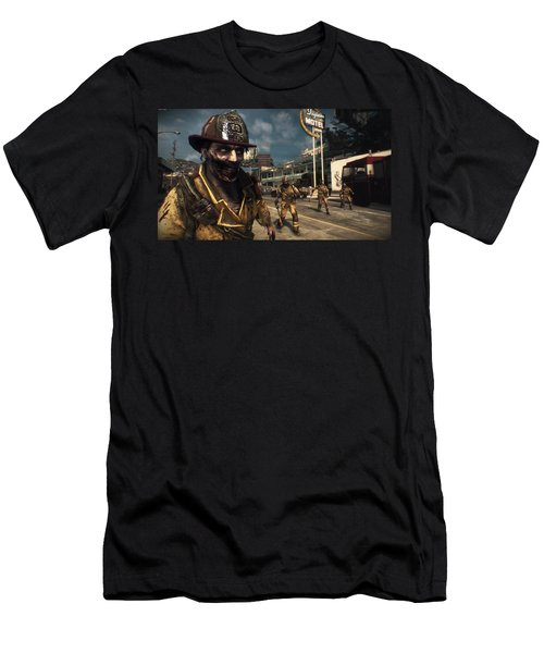 Dead Rising 3 Men's T-Shirt (Athletic Fit)