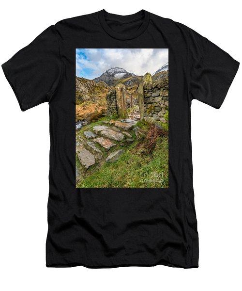 Decorative Iron Gate  Men's T-Shirt (Athletic Fit)
