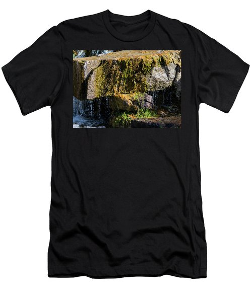 Desert Waterfall 2 Men's T-Shirt (Athletic Fit)
