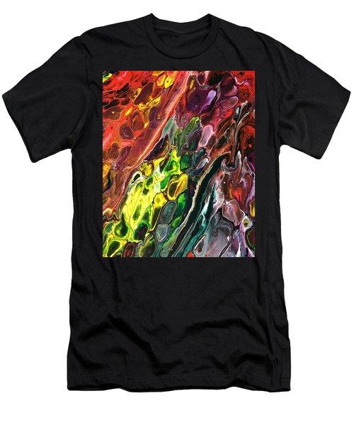 Detail Of Auto Body Paint Technician 2 Men's T-Shirt (Athletic Fit)
