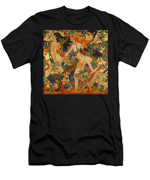 Diana And Her Nymphs Men's T-Shirt (Athletic Fit)