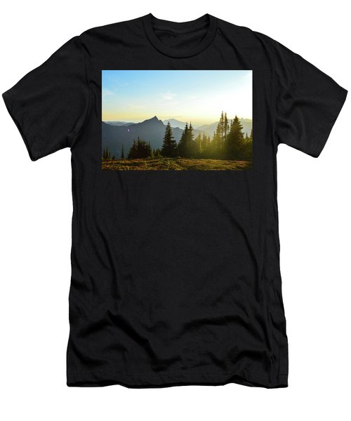 Dickerman Sunset Men's T-Shirt (Athletic Fit)