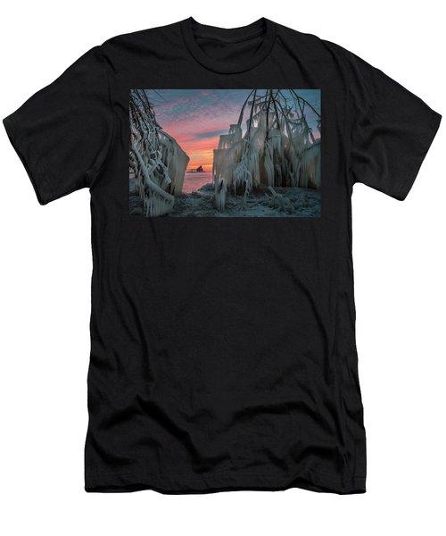 Distant Lighthouse Men's T-Shirt (Athletic Fit)