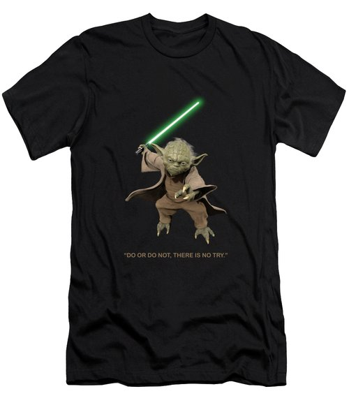 Do Or Do Not, There Is No Try. - Yoda Men's T-Shirt (Athletic Fit)