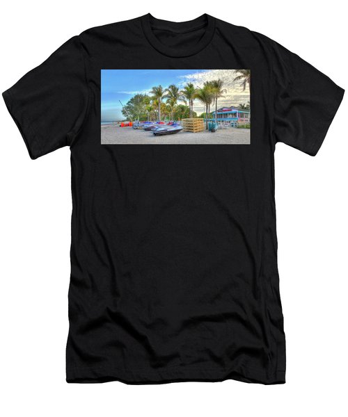 Docs Beach House Men's T-Shirt (Athletic Fit)