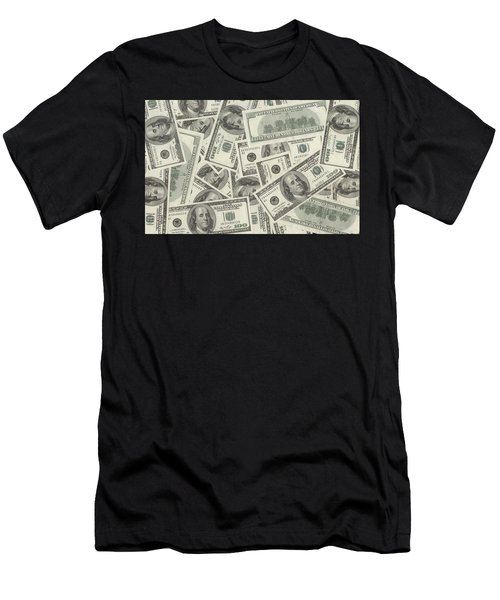 Dollar Men's T-Shirt (Athletic Fit)