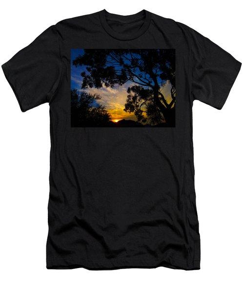 Dream Sunrise Men's T-Shirt (Slim Fit) by Mark Blauhoefer