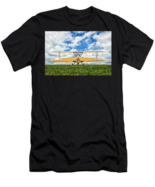 Dreaming Of Flight Men's T-Shirt (Athletic Fit)