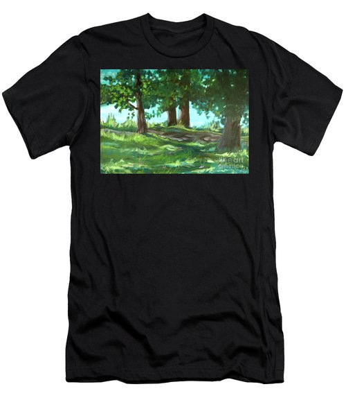 Dreaming On Fellows Lake Men's T-Shirt (Athletic Fit)