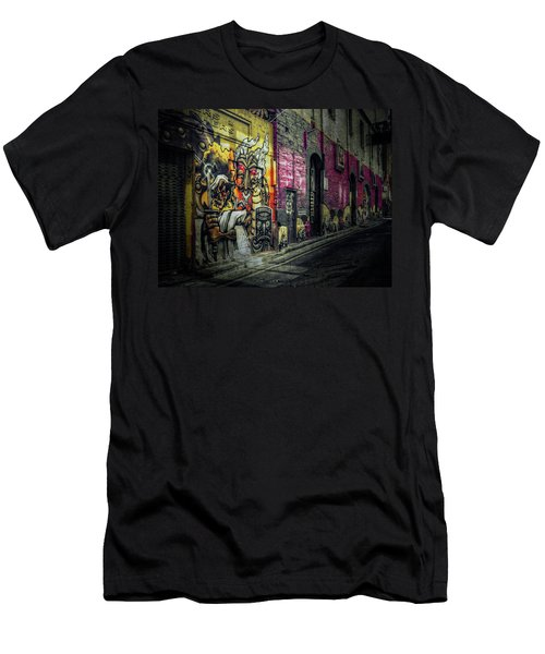 Men's T-Shirt (Slim Fit) featuring the photograph Dreamscape by Wayne Sherriff