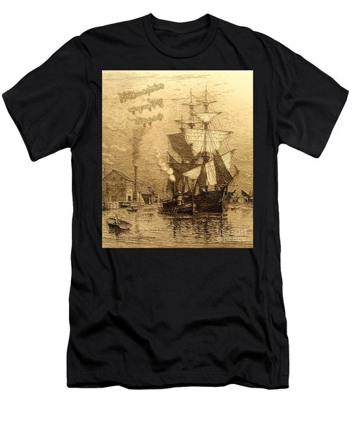 Drinking Rum Before Noon Men's T-Shirt (Athletic Fit)