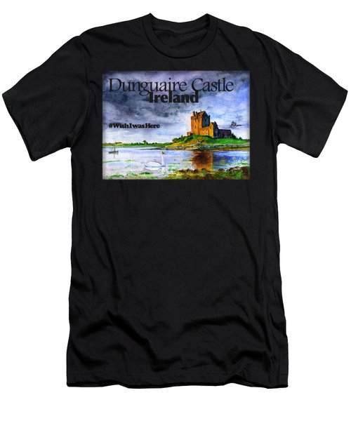 Dunguaire Castle Ireland Men's T-Shirt (Athletic Fit)