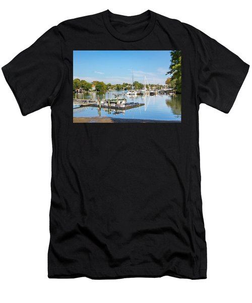 Early Fall Day On Spa Creek Men's T-Shirt (Athletic Fit)